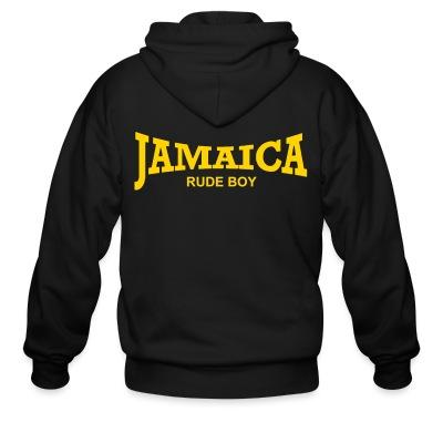 Sweat zippé Jamaica rude boy