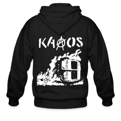 Sweat zippé Kaaos