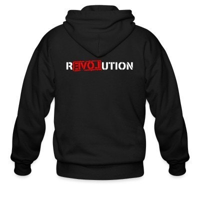 Sweat zippé Love Revolution
