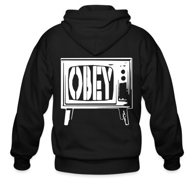 Sweat zippé Obey TV