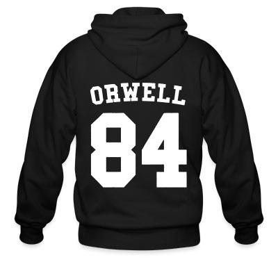 Sweat zippé Orwell 84