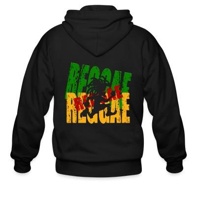 Sweat zippé Reggae