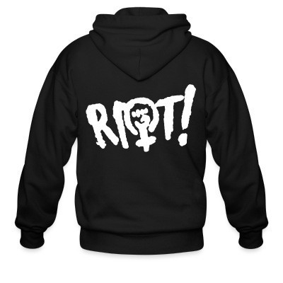 Sweat zippé Riot!
