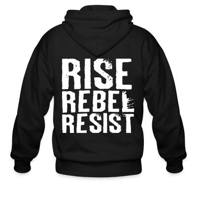 Sweat zippé Rise Rebel Resist