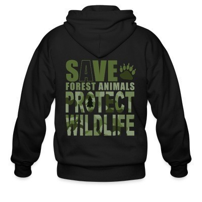 Save forest animal protect wildlife