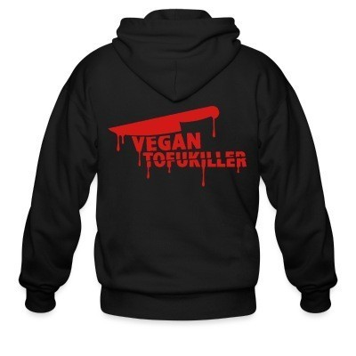 Sweat zippé Vegan tofukiller
