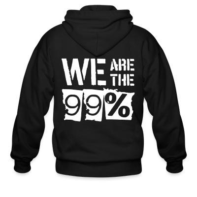 Sweat zippé We are the 99%
