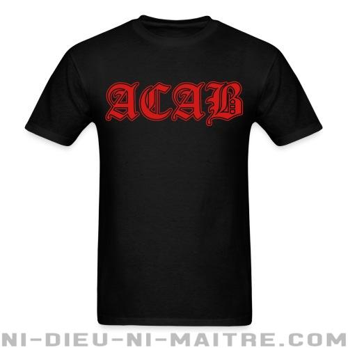 ACAB - T-shirt ACAB anti-flic