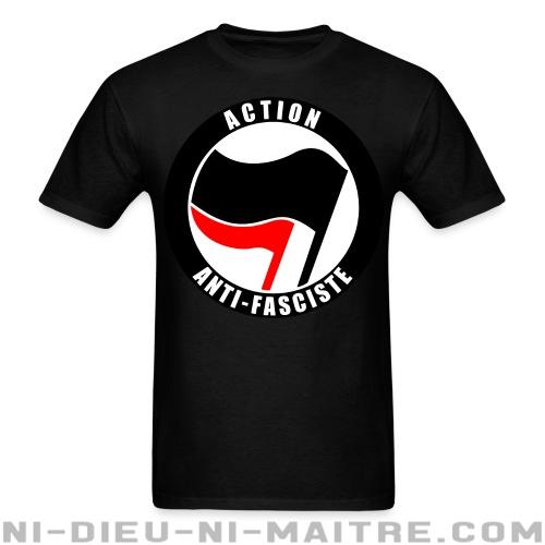 T-shirt standard unisexe Action anti-fasciste - Antifa & anti-racisme