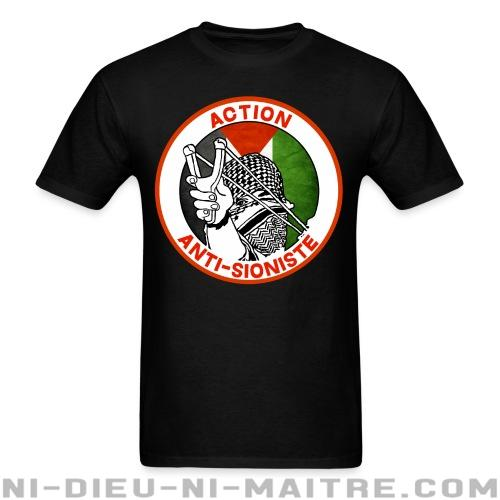 Action anti-sioniste - T-shirt anti-guerre