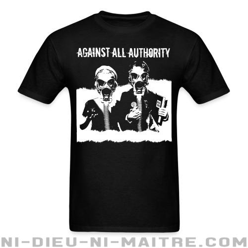 T-shirt standard unisexe Against all authority -