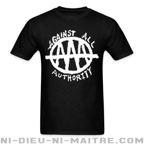 T-shirt standard unisexe Against All Authority - AAA -