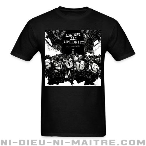 Against all authority - All fall down - T-shirt Band Merch