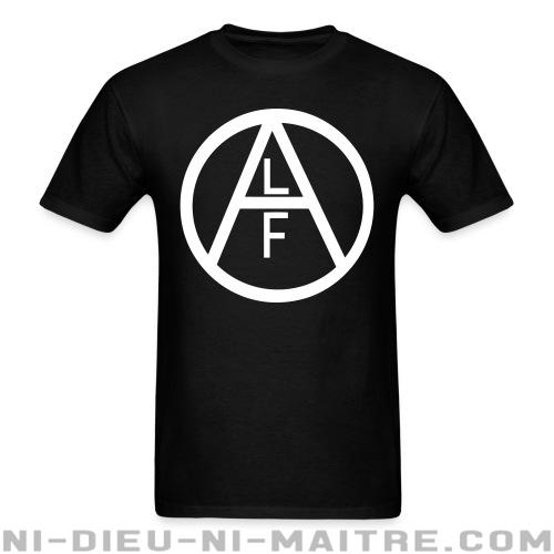 T-shirt standard unisexe ALF - Animal Liberation Front - Vegan & Libération Animale