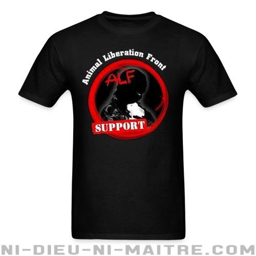 T-shirt standard unisexe ALF Animal Liberation Front support - Vegan & Libération Animale