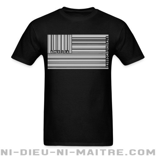 America freedom for sale - T-shirt humour engagé