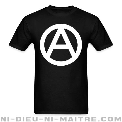 T-shirt standard unisexe Anarchism - T-Shirts Militants