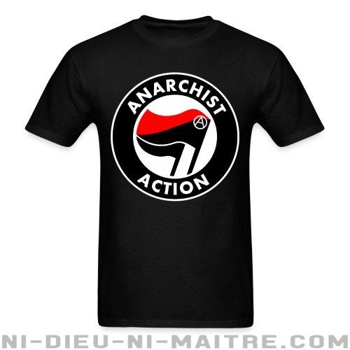 Anarchist action - T-shirt Militant