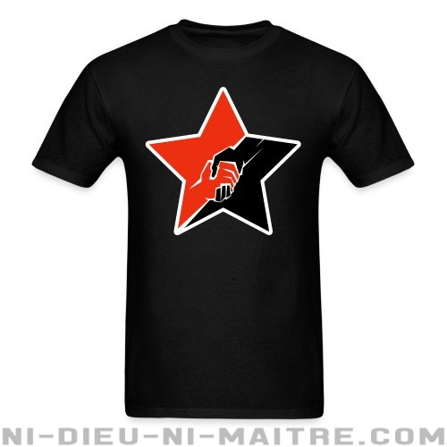 Anarcho-Communist Red & Black Star - T-shirt Militant