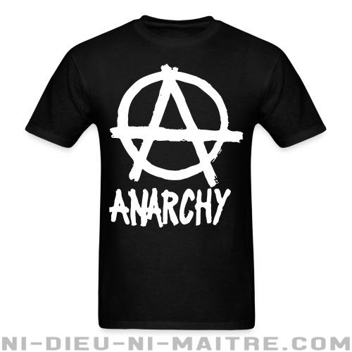 T-shirt standard unisexe Anarchy - T-Shirts Militants