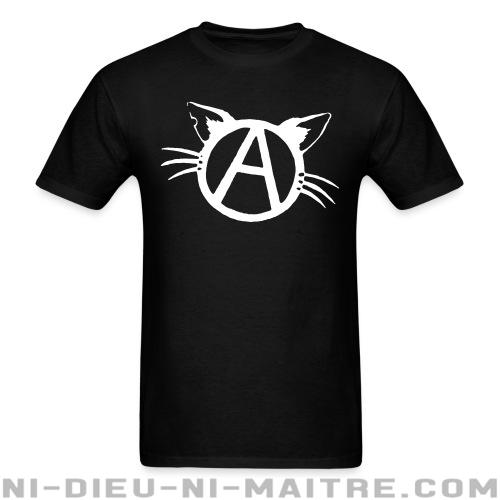 Anarchy cat - T-shirt véganes et libération animale
