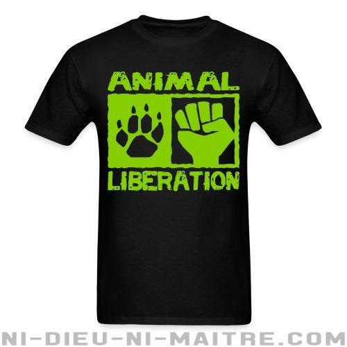 T-shirt ♂ Animal liberation - Libération animale