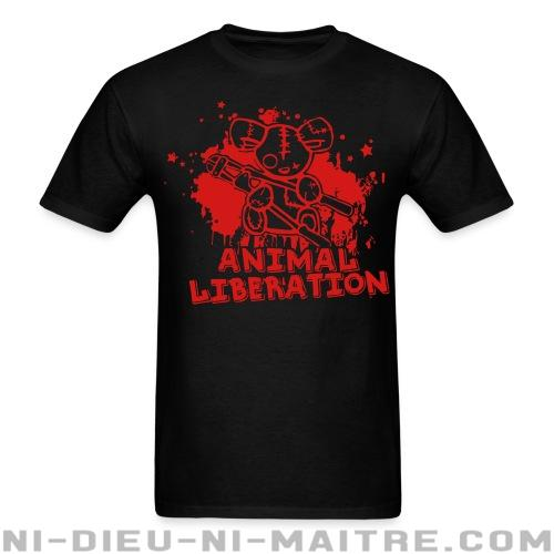 T-shirt standard unisexe Animal liberation - Vegan & Libération Animale