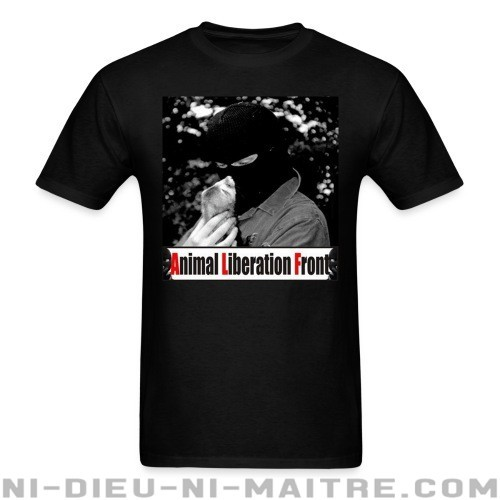 Animal Liberation Front - T-shirt véganes et libération animale