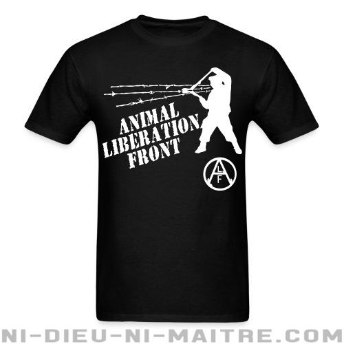 Animal Liberation Front - ALF - T-shirt véganes et libération animale