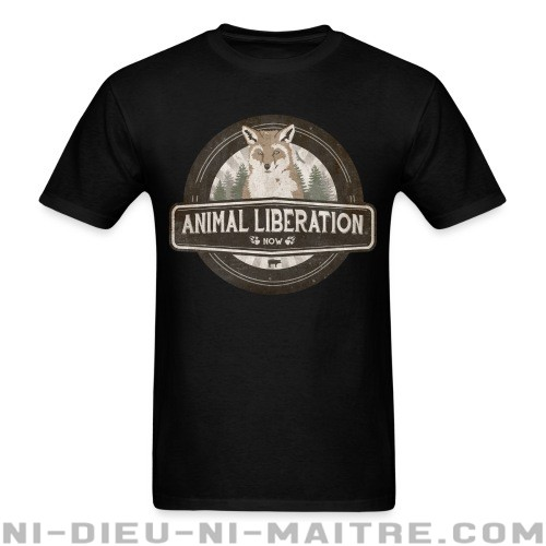 Animal liberation now - T-shirt véganes et libération animale