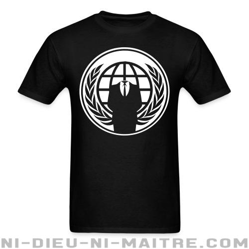 Anonymous - T-shirt imprimé au dos Anonymous