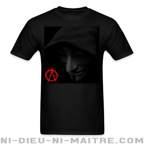 T-shirt standard (unisexe) anonymous-occupy-99-percent - Anonymous