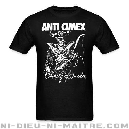 Anti Cimex - Country of Sweden - T-shirt Band Merch