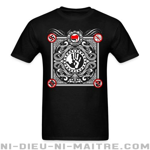 T-shirt ♂ antifa-anti-racist-anti-nazi - Antifa & Anti-racisme