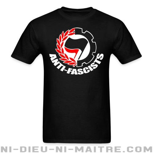 T-shirt ♂ Anti-fascists - Antifa & Anti-racisme