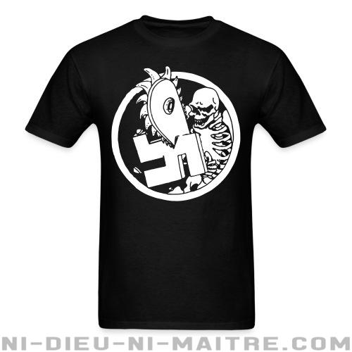 Anti-nazi Skeleton - T-shirt Anti-Fasciste