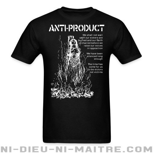 Anti-Product - The time has come for us to be victors not victims - T-shirt Band Merch
