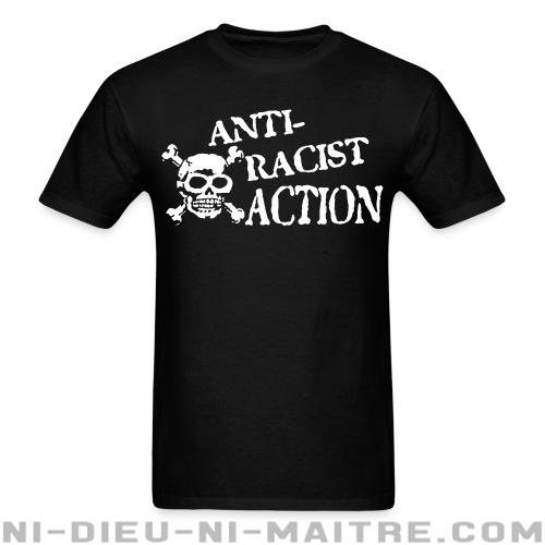 T-shirt standard unisexe Anti-racist action - Antifa & anti-racisme