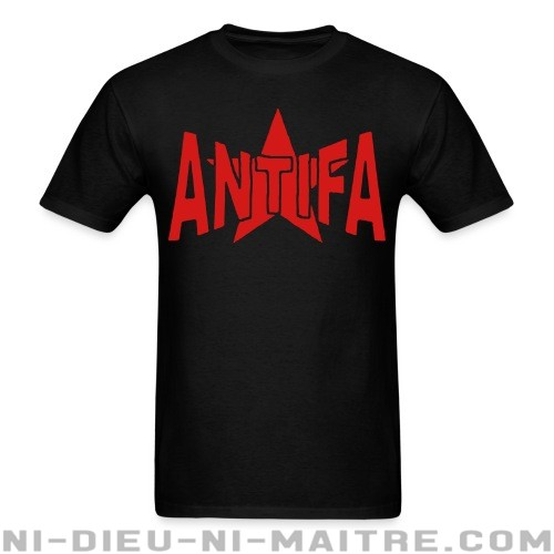 Antifa  - T-shirt Anti-Fasciste
