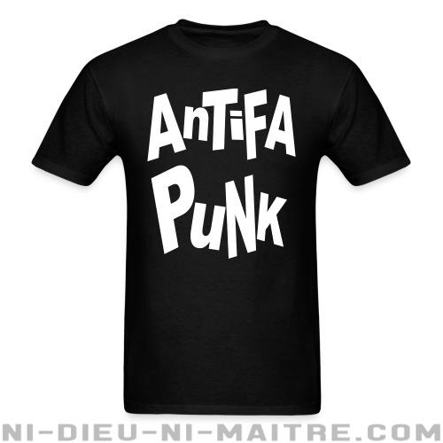 Antifa punk - T-shirt Punk
