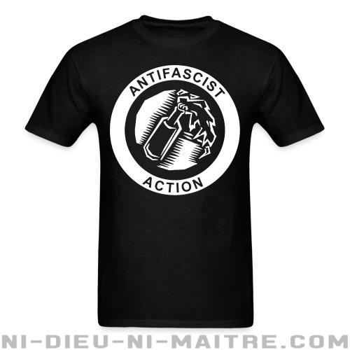T-shirt standard unisexe Antifascist action - Antifa & anti-racisme