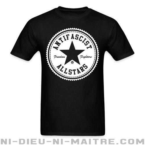 T-shirt standard unisexe Antifascist allstars - freedom fighters - Antifa & anti-racisme