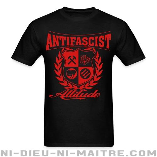 Antifascist attitude - T-shirt Anti-Fasciste