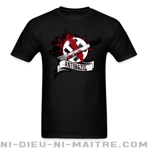 Antinazis - T-shirt Anti-Fasciste