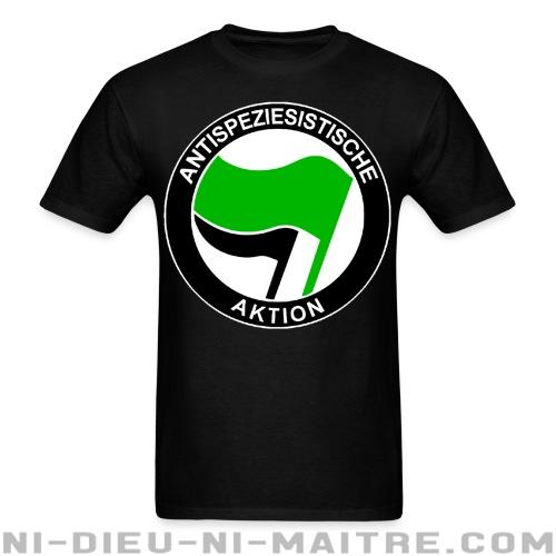 T-shirt standard unisexe Antispeziesistische aktion - Vegan & Libération Animale