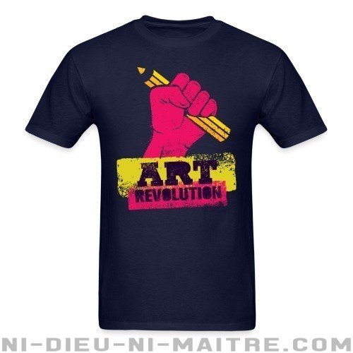 Art revolution - T-shirt Militant