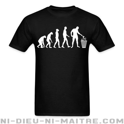 Atheist evolution - T-shirt Athé