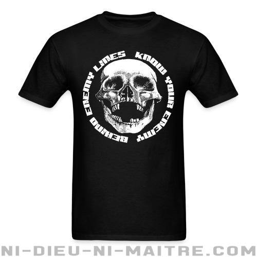 Behind Enemy Lines - Know your enemy - T-shirt Band Merch