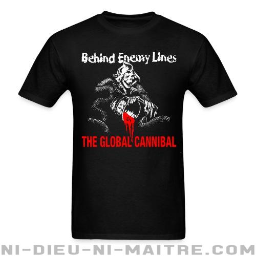 Behind Enemy Lines - The global cannibal - T-shirt Band Merch