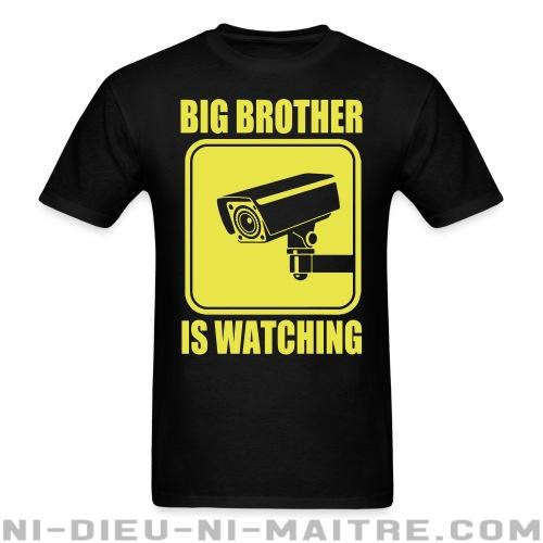Big brother is watching - T-shirt Militant